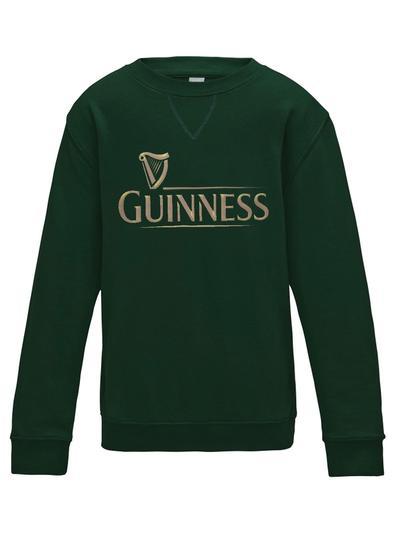 Ladies Green Guinness Sweatshirt Blarney