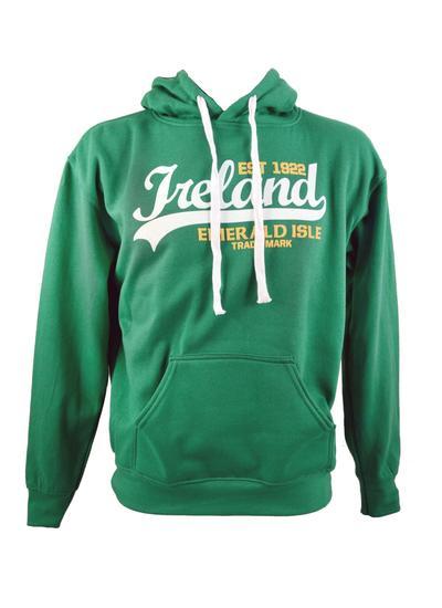 Ireland Emerald Isle Green Hoodie Blarney