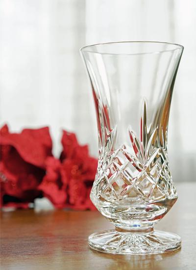 Waterford Crystal Finola 6 Inch Footed Vase Blarney