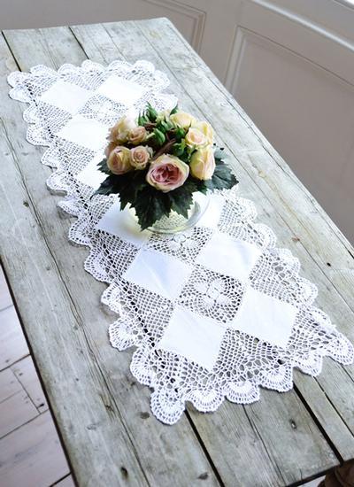 Astonishing Linen Lace Table Runner Blarney Download Free Architecture Designs Intelgarnamadebymaigaardcom