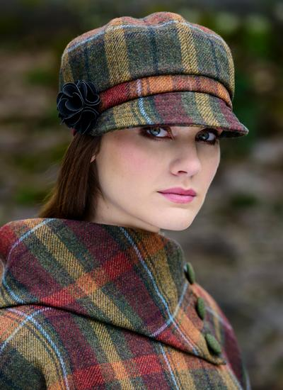 Irish Wool Newsboy Hat | Blarney