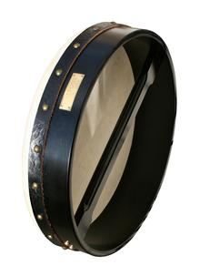18 Inch Professional Black Bodhran Deluxe