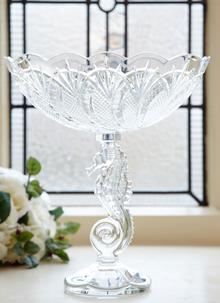 Waterford Crystal Seahorse Centrepiece Bowl