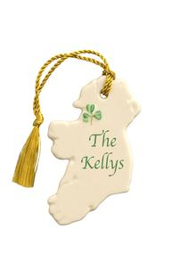 Ireland Personalized Ornament