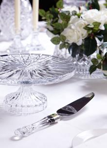 Waterford Crystal Lismore Offset Cake Server (Knife)