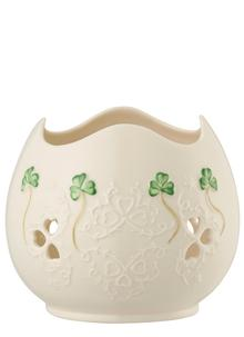 Shamrock Lace Pierced Votive