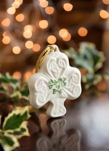 Shamrock Puff Ornament