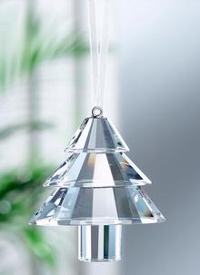 Galway Crystal Traditional Christmas Tree Ornament