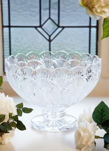 Waterford Crystal Seahorse Centrepiece