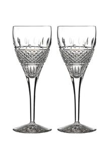 Waterford Crystal Irish Lace Red Wine Pair