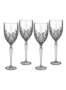 Marquis By Waterford Crystal Brookside White Wine Set