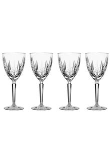 Marquis by Waterford Crystal Sparkle Set of 4 Goblets