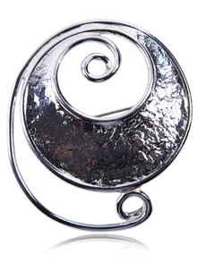 Celtic Spiral Brooch