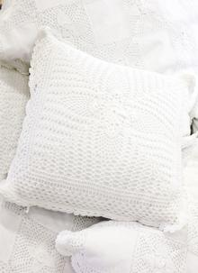 Traditional Crochet Cushion Cover Set