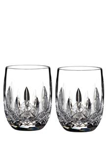 Lismore Connoisseur Rounded 7Oz Tumbler Pair