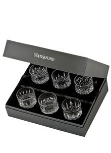 Waterford Crystal Connoisseur Lismore Heritage Tumbler Set of 6