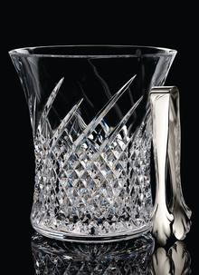 Waterford Crystal Wild Atlantic Way Ice Bucket With Tongs