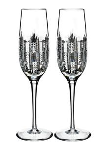 Waterford Crystal Dungarvan Flute Pair