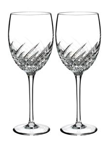 Waterford Crystal Essentially Wave Goblet Pair
