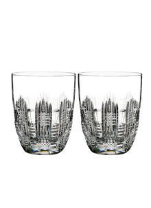 Waterford Crystal Dungarvan Double Old Fashioned Pair