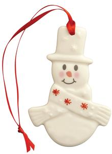 Plain Snowman Hanging Ornament