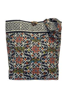 Book of Kells Navy Shopper Bag