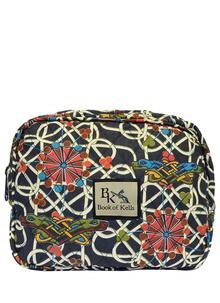 Book of Kells Navy Cosmetic Bag