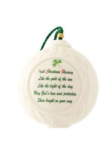 Christmas Verse Ball Ornament