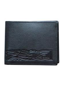 Leather Wallet Celtic Band Black