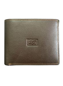 Leather Wallet Celtic Knot Brown