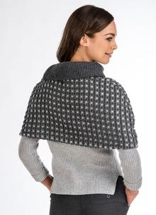 Wool Capelet Topper