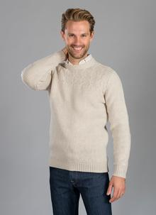 Fisherman Crew Neck With Stitch Detail