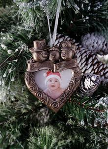 Genesis Baby's First Christmas Frame Ornament