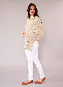 Finola Cotton Linen Wrap Natural