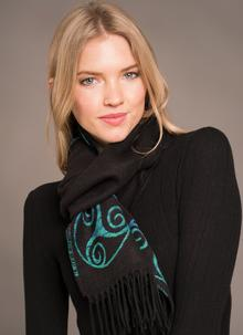 Triskel Scarf Turquoise
