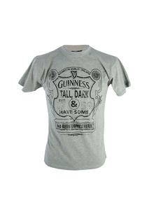 Mens Grey Tall Dark And Have Some Guinness T-Shirt