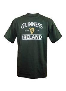 Guinness Harp Ireland Bottle Green T-Shirt