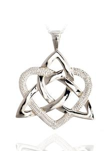 Heart Of A Celt Sterling Silver Pendant