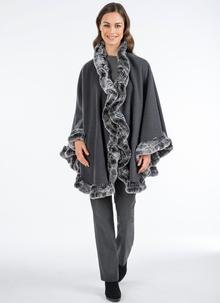 Heirloom Julio Cape With Cashmere Grey