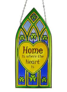 Home Is Where The Heart Is Suncatcher