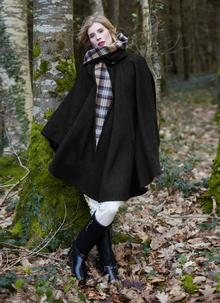 Wool Walking Cape