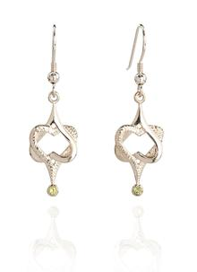 Mo Chroi Peridot Sterling Silver Earrings