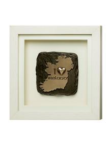 Genesis I Love Ireland Framed Bronze
