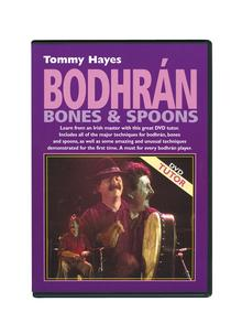 Tommy Hayes Bodhran, Bones And Spoons DVD
