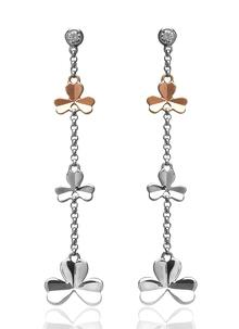 Shamrock Drop Earrings