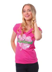 Ladies Pink Ireland T-Shirt
