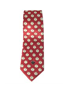 Sheep Silk Tie Red