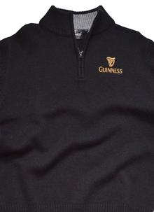 Men's Guinness Knitted Sweater Half Zip