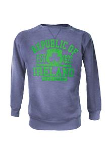 Ladies Ireland Denim Marl Sweatshirt