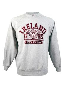Ladies Ireland Grey Marl Sweatshirt